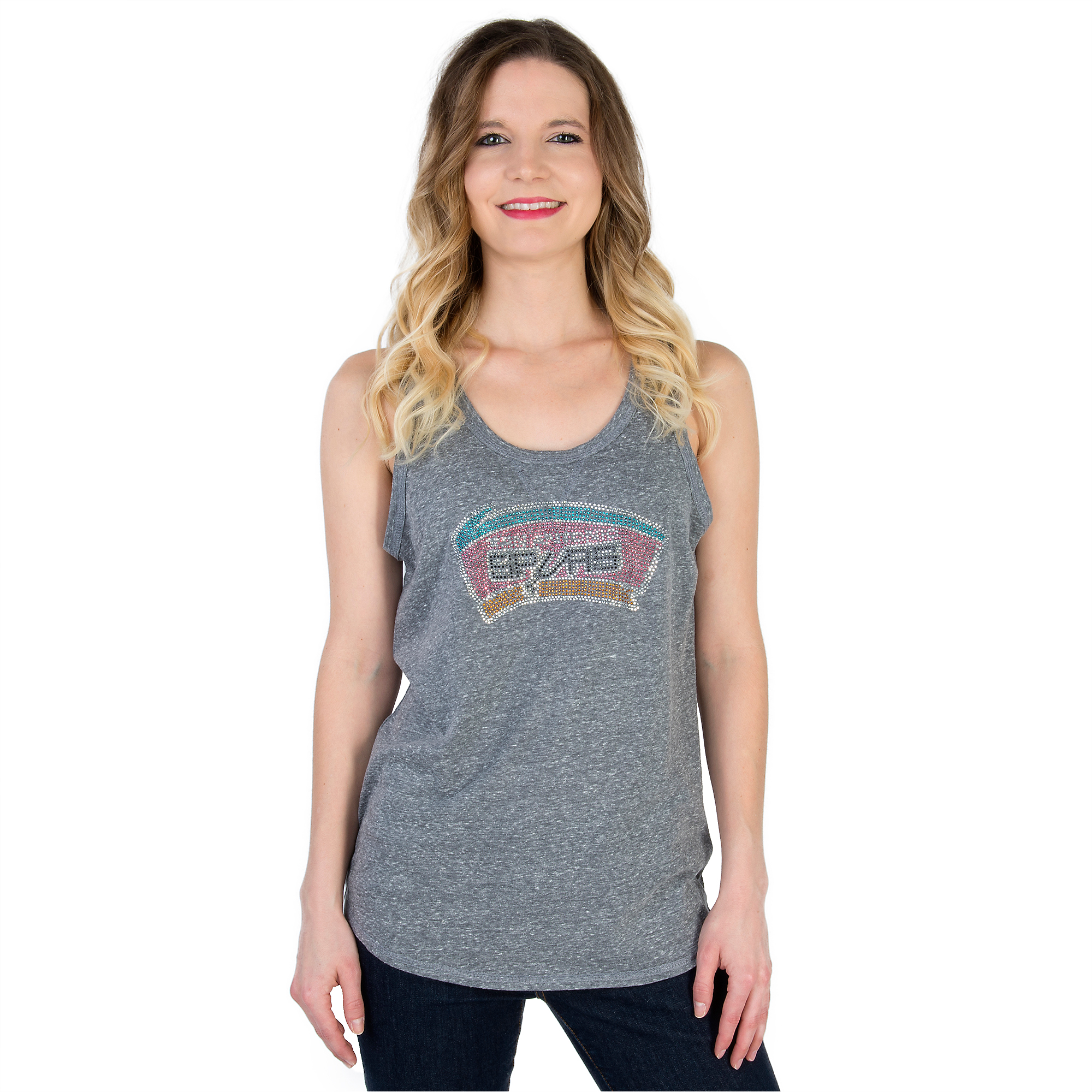San Antonio Spurs Womens G-III Fair Catch Slub Tank