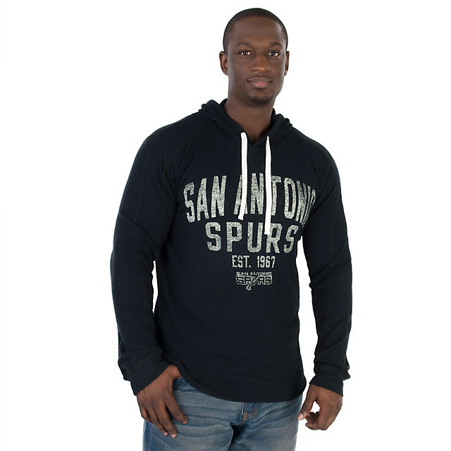 San Antonio Spurs GIII Strong Side Slub Thermal Pullover