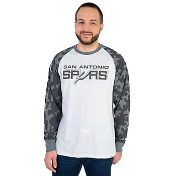 San Antonio Spurs 47 Stealth Camo Raglan Tee