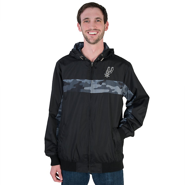 San Antonio Spurs GIII Hot Zone Full Zip Jacket