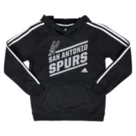 San Antonio Spurs Adidas Youth Playbook Stripe Hoody
