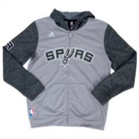San Antonio Spurs Adidas Youth Pregame Hoody