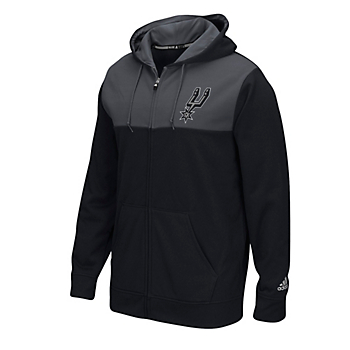 San Antonio Spurs Adidas Tip Off Full-Zip Hoody