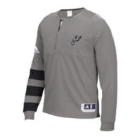San Antonio Spurs Adidas On-Court Shooter Long Sleeve Tee