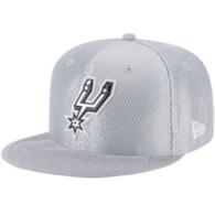 San Antonio Spurs New Era On-Court Grey Snapback Cap
