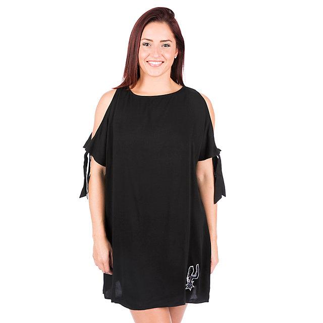 San Antonio Spurs Womens Cold Shoulder Dress
