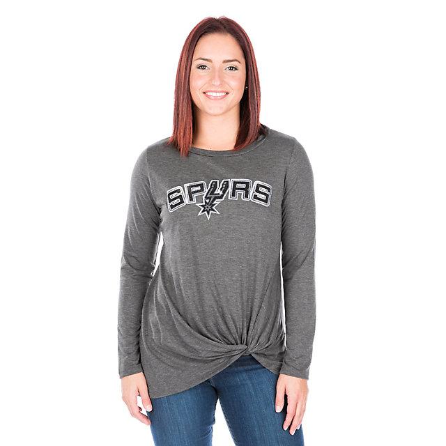San Antonio Spurs Womens Twist Tie Long Sleeve Tee