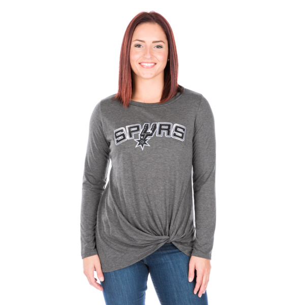 San Antonio Spurs Womens Twist Tie Long Sleeve Tee