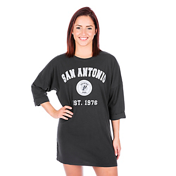San Antonio Spurs Womens Tee Shirt Dress