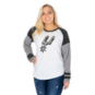 San Antonio Spurs 47 Womens Distressed Imprint Cinderblock Tee