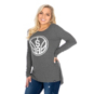 San Antonio Spurs 47 Womens Campbell Rib Long Sleeve Tee