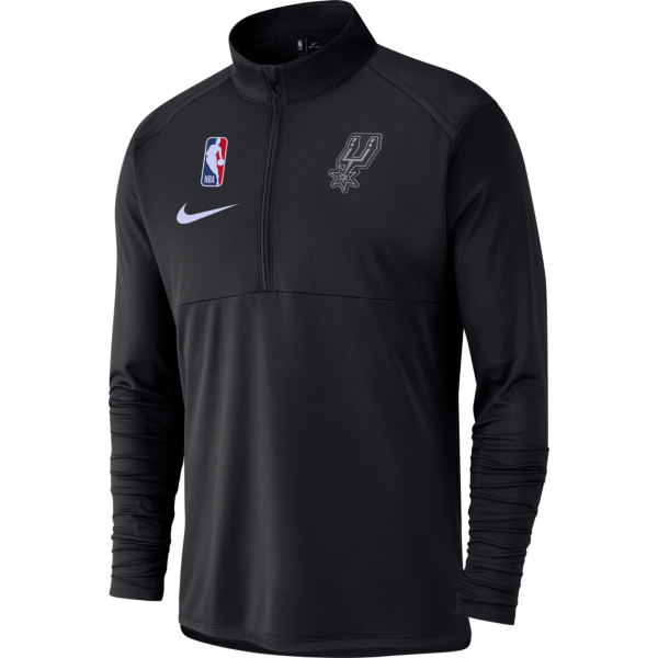 San Antonio Spurs Nike Mens Dri-FIT Half-Zip Pullover