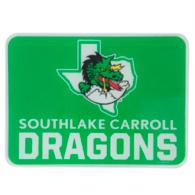 Southlake Carroll Dragons 11x15 Cutting Board