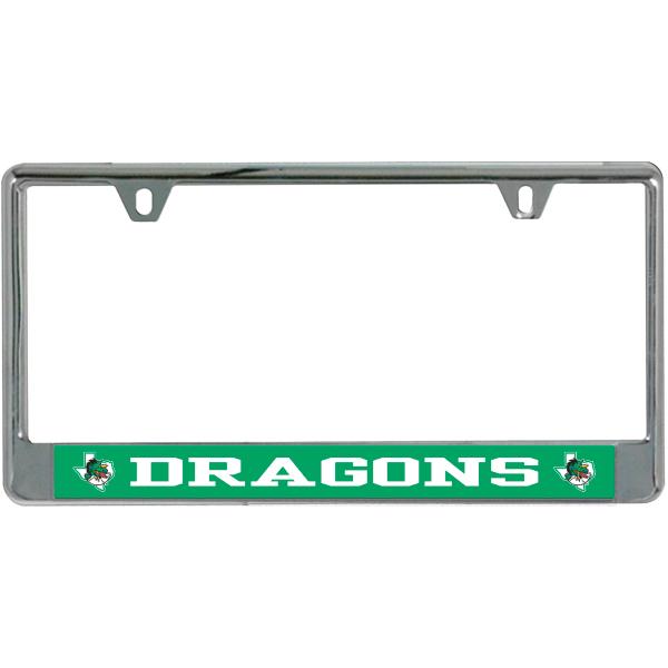 Southlake Carroll Dragons License Plate Frame