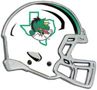 Southlake Carroll Dragons Helmet Emblem