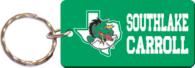 Southlake Carroll Dragons Keyring