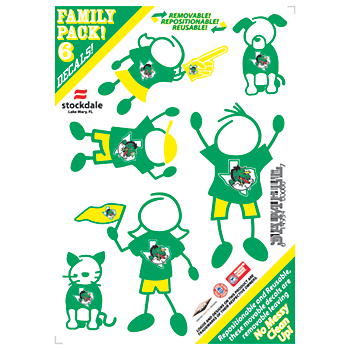 Southlake Carroll Dragons 6-Pack Family Decal
