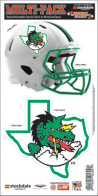 Southlake Carroll Dragons 6x12 Movable Multi-Pack Decal