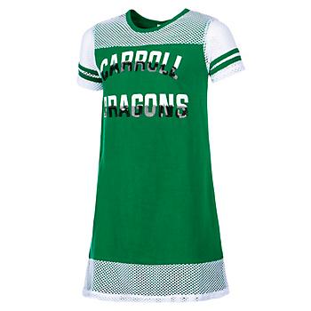 Southlake Carroll Dragons Colosseum Girls Don't Be Talkin' Mesh Dress