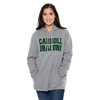 Southlake Carroll Dragons Unisex Oversize Pullover