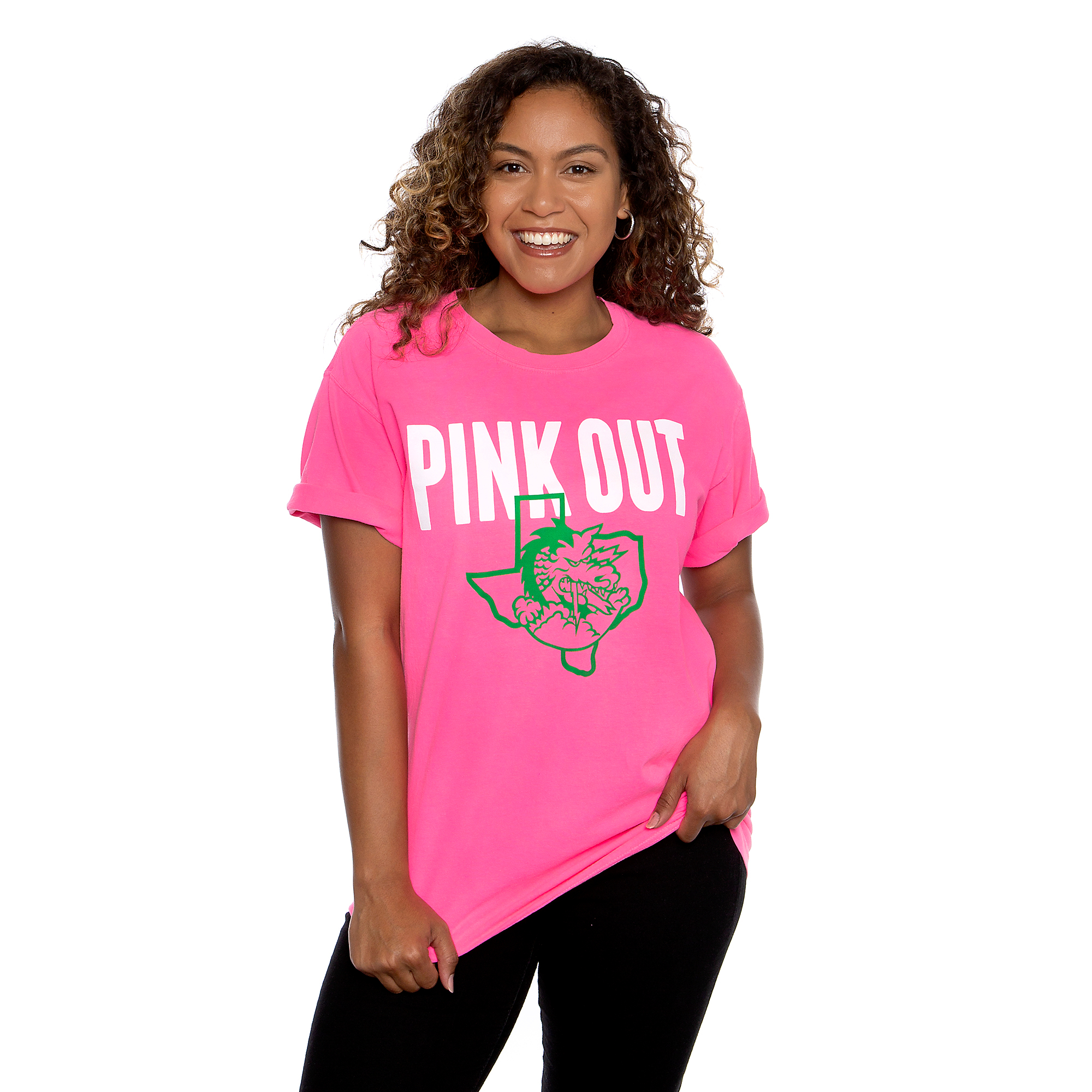 Southlake Carroll Dragons Comfort Colors Crew T-Shirt