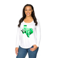 Southlake Carroll Dragons Summit Juniors Relaxed Drop Shoulder Long Sleeve Tee