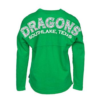 Southlake Carroll Dragons Girls Spirit Jersey