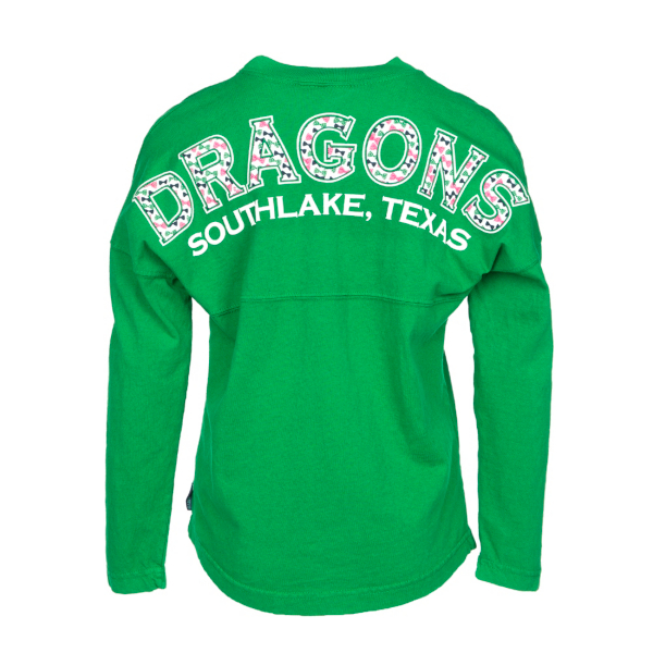 Southlake Carroll Dragons Girls Spirit Jersey