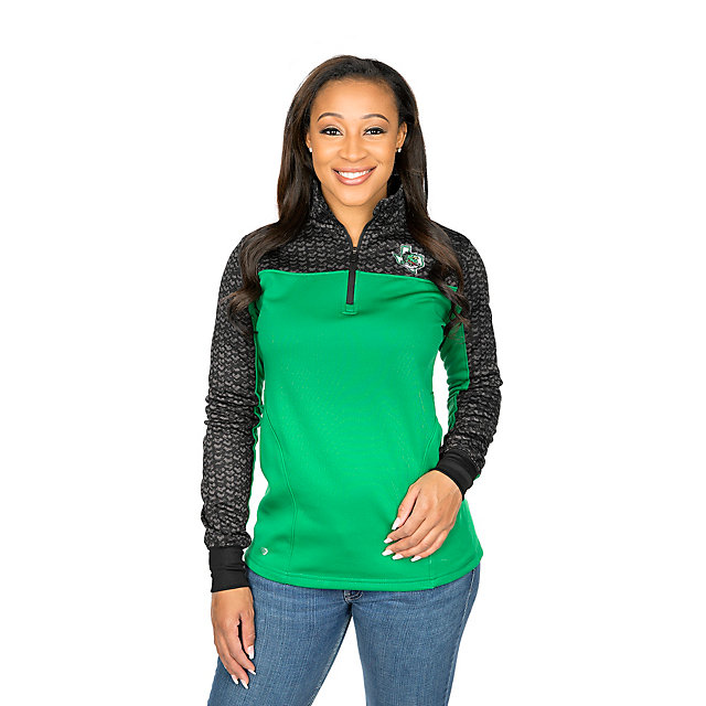 Southlake Carroll Dragons Colosseum Womens Scaled Quarter-Zip Pullover