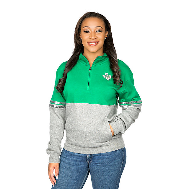 Southlake Carroll Dragons Colosseum Womens Rudy Quarter-Zip Fleece Hoody