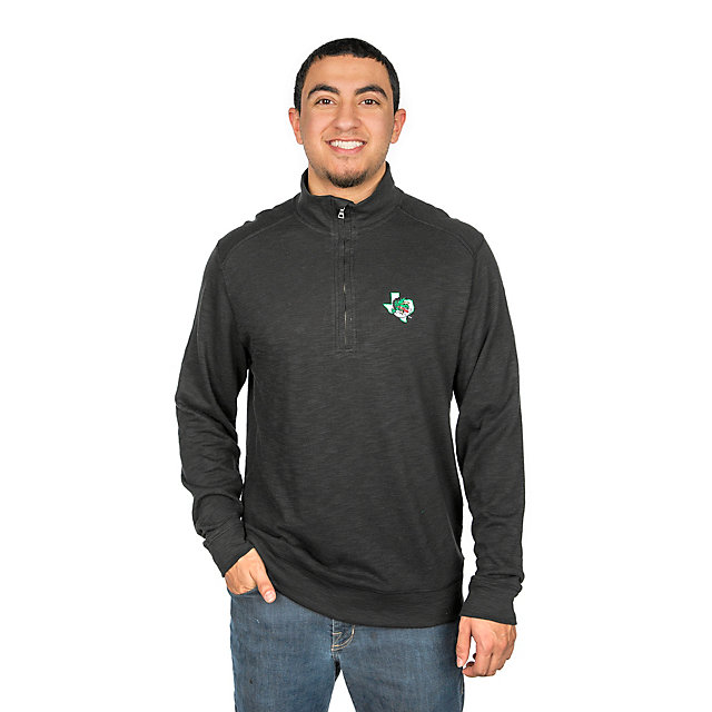 Southlake Carroll Dragons Levelwear Hudson Shear Text Quarter-Zip Pullover