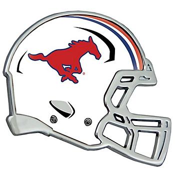 SMU Mustangs Helmet Emblem