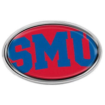 SMU Mustangs Oval Mega Color Insert Emblem