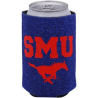 SMU Mustangs Glitter Can Coolie