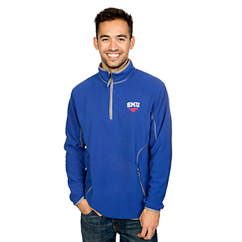 SMU Mustangs Antigua Ice Pullover