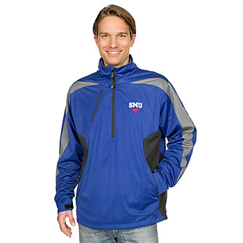 SMU Mustangs Antigua Discover Pullover