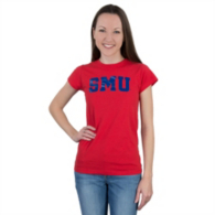 SMU Mustangs 5th & Ocean Jersey Crew