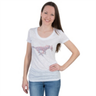 SMU Mustangs Summit Scoop Tee