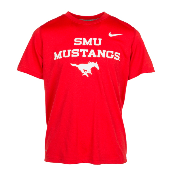 SMU Mustangs Nike Youth Dri-Fit Tee