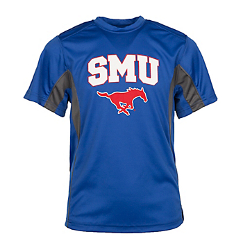SMU Mustangs Badger Youth Drive Tee