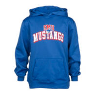 SMU Mustangs Badger Youth Fleece Hoodie