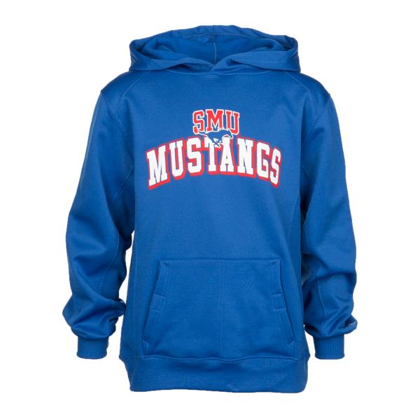 SMU Mustangs Badger Youth Fleece Hoodie