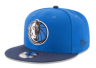 Dallas Mavericks New Era Victory Side Snapback Cap