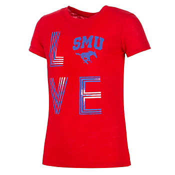 SMU Mustangs Colosseum Girls Own This Town Short Sleeve T-Shirt