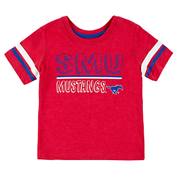 SMU Mustangs Toddler Boys You Rang Short Sleeve T-Shirt