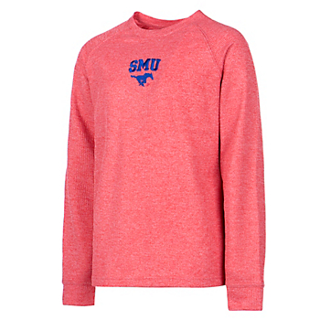 SMU Mustangs Youth Colosseum Viper Vennaro Raglan T-Shirt