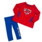 SMU Mustangs Infant Girls Nice Kick Tunic & Legging Set