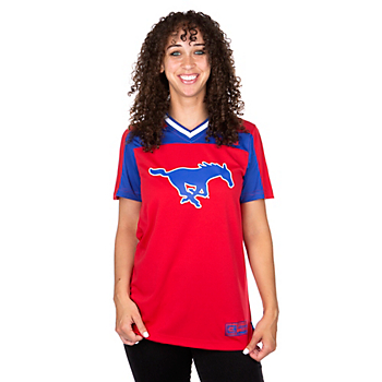 SMU Mustangs Colosseum Womens My Agent Jersey