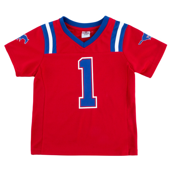 SMU Mustangs Toddler Boys Foos-Ball Football Jersey