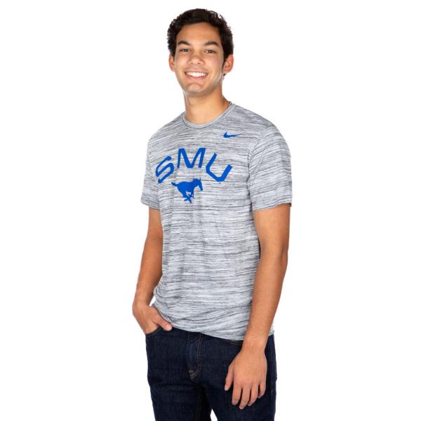 SMU Mustangs Nike Velocity Short Sleeve T-Shirt